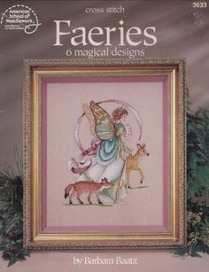 Magical-Faeries-Counted-Cross-Stitch-Pattern-Booklet-ASN-3633-by-Barbara-Baatz
