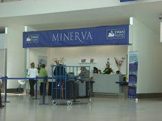 Swan Hellenic - Minerva, Check in area