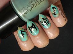 I have decided to quit a bit with my League of Legends nails, I also almost quit playing it, so the game does not inspire me as much as it. Nordic Runes, Rune Stones, Kawaii Nails, Witchcraft, Zodiac, Nail Art, Norse Runes, Nail Arts, Magick