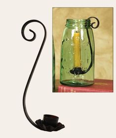 Mason Jar Candle Holders Quart Box of 4