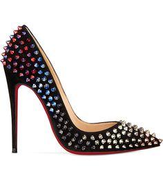 CHRISTIAN LOUBOUTIN - So Kate 120 spikes/veau velours | Selfridges.com