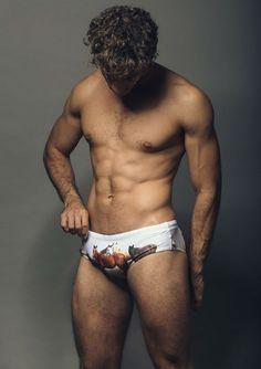 Miguel Aguel for Marcuse Swimswear by Angel Ruiz