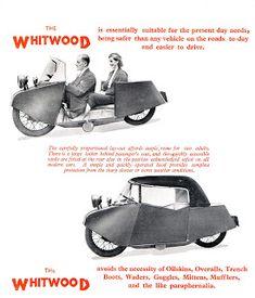 Red Devil Motors: The Whitwood Monocar