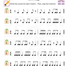 Music-Worksheets-Holidays-Rhythm-003