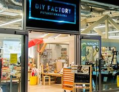 If you love DIY and you want to get you or your hands dirty, then you have to visit the creative shop called DIY Factory in Futako-Tamagawa. This store is fascinating they sell DIY products, have DIY workshops, and offer workshop space and tool rental.