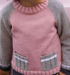 «Простота и комфорт» детский пуловер