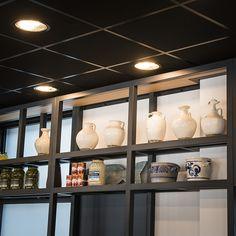 #lampenundleuchten.at #Innenbeleuchtung #Deko #Außenbeleuchtung #Cafe #Restaurant Liquor Cabinet, Ceiling Lights, Cafe Restaurant, Lighting, Storage, Furniture, Home Decor, Beautiful, Restaurants