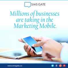 #Didyouknow Millions of businesses are taking advantage in the Marketing Mobile.