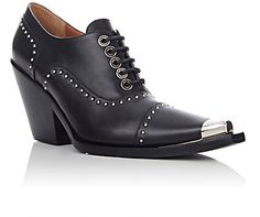 Givenchy Studded Cowboy Soap Derbys - Ankle Boots - Barneys.com