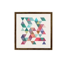 Retro wall art Geometric art print Mid century by LatteDesign, $15.00