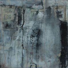 Abstrakte Kunst von Iris Rickart / Unikatbild 124 / Mischtechnik