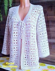 Trendy Ideas For Crochet Cardigan Pattern Free Girls Gilet Crochet, Crochet Cardigan Pattern, Crochet Jacket, Crochet Blouse, Crochet Poncho, Modern Crochet Patterns, Crochet Fashion, Crochet Clothes, Baby Knitting