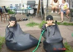 Ghetto swimming pool. Let's do it.