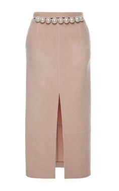 Marion Wool Midi Skirt by HUISHAN ZHANG for Preorder on Moda Operandi