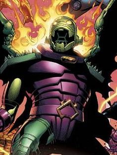 Annihilus, a native of the planet Arthos, is the ruler of The Negative Zone and a longtime foe of The Fantastic Four. He is a nihilist who is obsessed with constantly finding different ways to extend his lifespan and destroying all that which he sees as a threat to his existence.