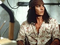 Johnny Depp - The Brave Johnny Movie, Here's Johnny, Johnny Depp Movies, The Brave Johnny Depp, Johnny Depp Fans, Johnny Depp Pictures, Johny Depp, Hot Actors, Beautiful Soul