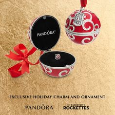 In store now! Kick off Holiday Gifting with our Limited Edition Exclusive Ornament and Charm inspired by the Radio City Rockettes! We also have a number of Limited Edition Gift Sets available! #PANDORAxRockettes #Doylestown #Jewelry #Pandora