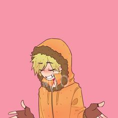 Kenny is my favorite character along with Butters and a few others South Park Anime, South Park Fanart, Anime Style, Kenny South Park, Bendy Y Boris, Character Art, Character Design, South Park Characters, Stan Marsh