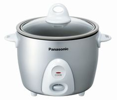 Panasonic SR-G06FG Automatic 3.3 Cup (Uncooked) Rice Cooker (Silver)