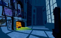 The Background Art of Disney's Kim Possible Background Drawing, Landscape Background, Animation Background, Environment Painting, Environment Concept Art, Environment Design, Disney Background, Cartoon Background, Frame By Frame Animation