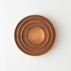 Habit & Form Circle Tray, Copper in Entertaining DINING + SERVING Day to Night at Terrain