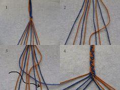 Solmukas: Saamelaisnauhat ystävännauhoiksi Handicraft, Weaving, Crafts, Color, Design, Scandinavian, Bands, Sew, Ideas