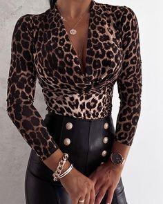 Blouses For Women, T Shirts For Women, Ladies Shirts, Cheap Blouses, Chic Type, Trend Fashion, Women's Fashion, Mode Chic, Womens Fashion Online