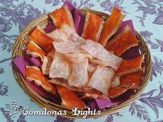 Comilonas Lights: Chips de surimi