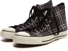 Plaid high/ ShopStyle: Converse オールスター DチェックHI
