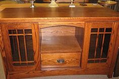 I love my Amish Oak furniture from Loudonville, OH.