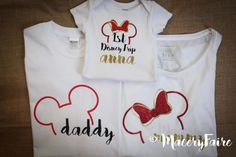 Family Disney shirts custom for Mom Dad Big brother or