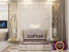 Luxury Master bedroom interior design in Ghana Elegant Bedroom Design, Luxury Bedroom Design, Master Bedroom Interior, Bedroom Furniture Design, Luxury Interior Design, Bedroom Decor, Bed Headboard Design, Bedroom Ideas, Bedroom Curtains