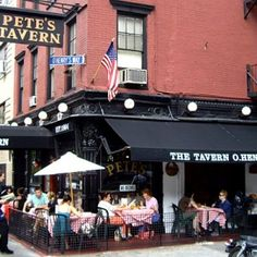 Fork & Bib finds out  Petes Tavern in Gramercy is kid-friendly and sippy cup approved!