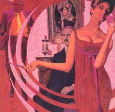 Robert Mcginnis, Pulp Fiction Art, Pulp Art, James Bond, Mad Max Book, Book Cover Art, Book Covers, Transformers Art, Fantasy Illustration