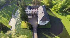 Eichtersheim Angelbachtal Schlossgarten Rathaus Luftbild http://fotovideoflug.de/luftbilder-flugaufnahmen-bruchsal-heidelberg-karlsruhe/