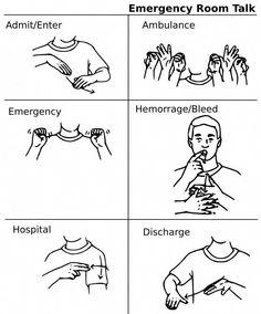39 ideas for medical sign language words Sign Language Chart, Sign Language Phrases, Sign Language Alphabet, Learn Sign Language, American Sign Language, Asl Signs, Deaf Culture, Survival, Baby Arrival