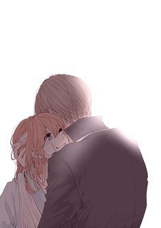 Okita Sougo x Kagura Couple Anime Manga, Couple Amour Anime, Anime Love Couple, Anime Couples Manga, Manga Anime, Anime Couples Hugging, Art Anime Fille, Anime Art Girl, Anime Bisou