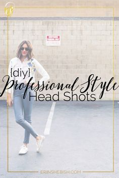 Head shots are so important for building your brand online. But you don't have to spend a fortune on them! DIY your head shots easily at home!