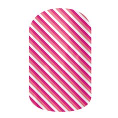 Skinny Pink  nail wraps by Jamberry Nails