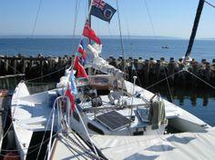 The best cruising trimaran ? Cool Boats, Sailboats, Opera House, Sailing, Past, Fair Grounds, Live, Fun, Travel