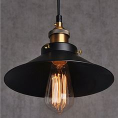 Simple Industrial Style Ceiling Light
