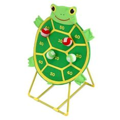 Melissa & Doug Tootle Turtle Target Game by Melissa & Doug. $20.71. From the Manufacturer Pick a team – red or green – and take turns tossing your self-sticking beanbags at the turtle-shaped target. A non-wobbling base and a smiling face make this an exciting way to learn simple addition and practice hand-eye coordination. Product Description Melissa & Doug Toys - Tootle Turtle Target Game. Exercise and bo...