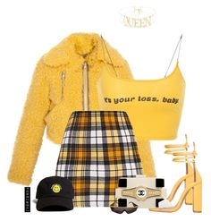 io by ivorionda on Polyvore featuring polyvore, fashion, style, Kenzo, Versace, 21 Men, Chanel and clothing