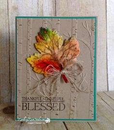 Autumn Wishes... | Rambling Rose Studio | Billie Moan | Vintage Leaves, Sheltering Tree and Paisleys & Posies