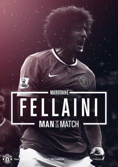 He got a crucial goal, and you've voted Marouane Fellaini as #mufc's Man of the Match vs City. Well played, Marouane!