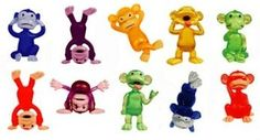 Funny Monkey Figures