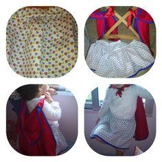 Faldas y capas de caperucita roja