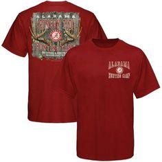 Alabama Crimson Tide Crimson Hunting Camp T-shirt