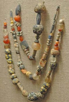 Beads. State Historic Museum, Moscow