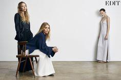 Ashley Mary-Kate Olsen Net-a-Porter The Edit